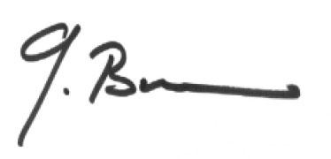 Unterschrift Georg Burkhard | SVTL